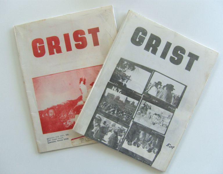 Grist. Whole numbers 9 and 12. John Fowler, ed. S. Clay Wilson, Charles Bukowski, et. al d a. levy.