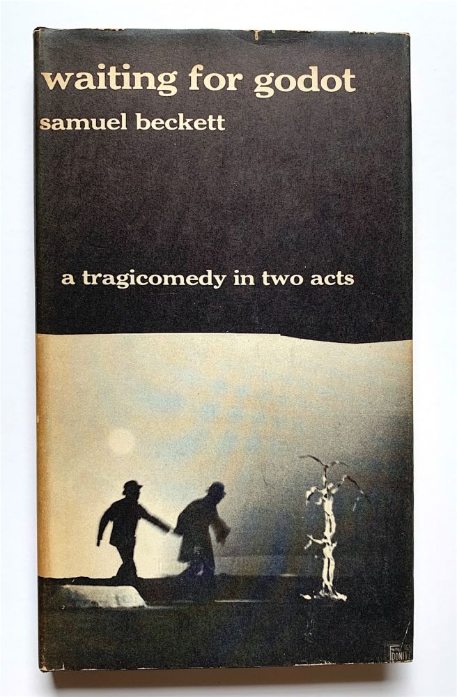 Waiting for Godot [first edition in English]. Samuel Beckett.