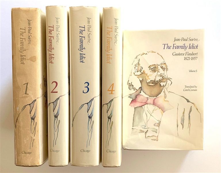 The Family Idiot. Gustave Flaubert 1821-1857. [first edition in English, five-volume set]. Jean-Paul Sartre.
