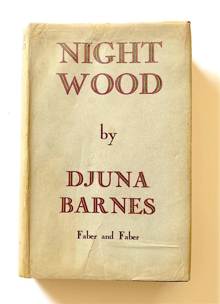 Nightwood [first edition]. Djuna Barnes.