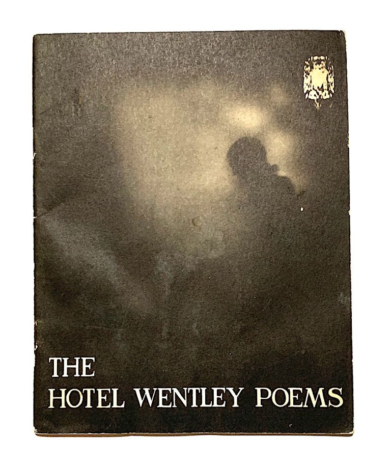 The Hotel Wentley Poems [first edition, second issue, signed]. John Wieners.