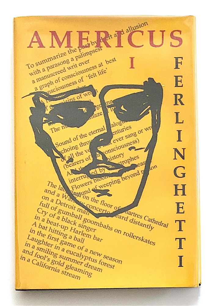 Americus. Book I. [first edition, signed]. Lawrence Ferlinghetti.