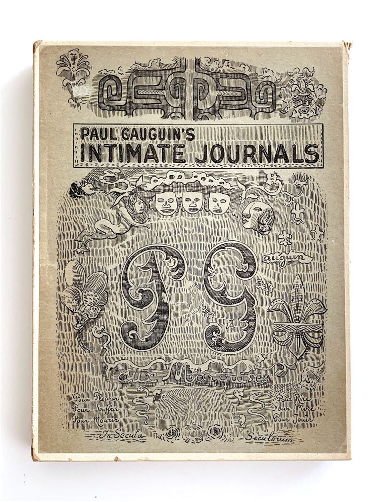 Intimate Journals. Paul Gauguin.