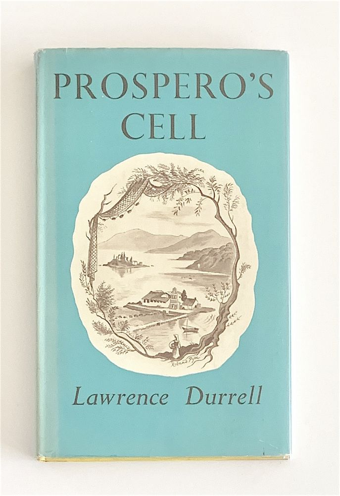 Prospero's Cell. A Guide to the Landscape and Manners of the Island of Corcyra [first edition, signed]. Lawrence Durrell.