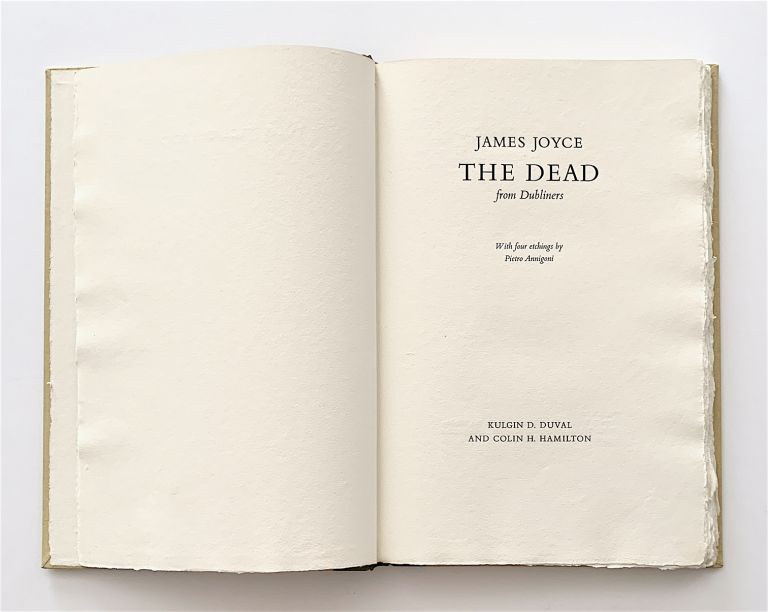 The Dead. From Dubliners. James Joyce.