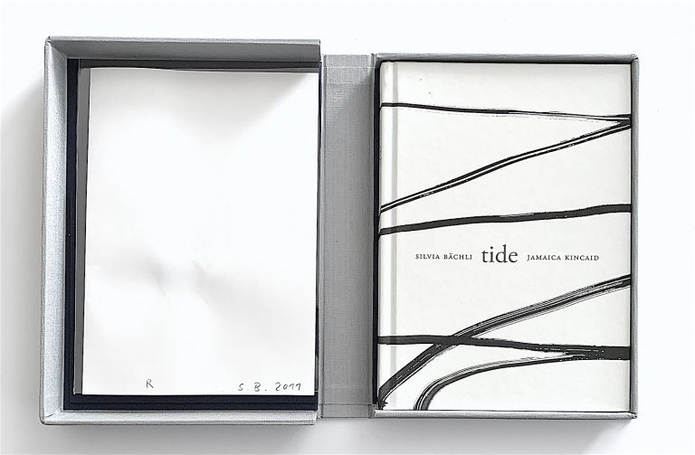 Tide [one of 26 copies with an original drawing]. Silvia Bächli, text, ill. Jamaica Kincaid.