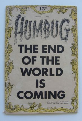 Humbug. Vol. 1, no. 1, August 1957. Harvey Kurtzman, ed