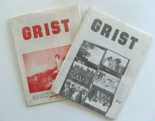 Grist. Whole numbers 9 and 12. John Fowler, ed. S. Clay Wilson, Charles Bukowski, et. al d a. levy