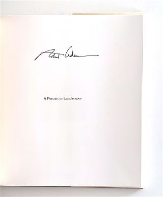 A Portrait in Landscapes [first edition, signed]