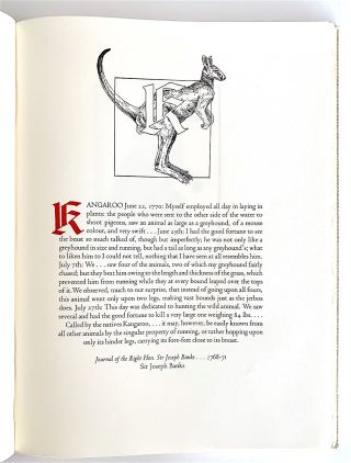 An Odd Bestiary; Or a Compendium of Instructive and Entertaining Description of Animals, Culled from Five Centuries of Travelers' Accounts... Arranged as an Abecedary.