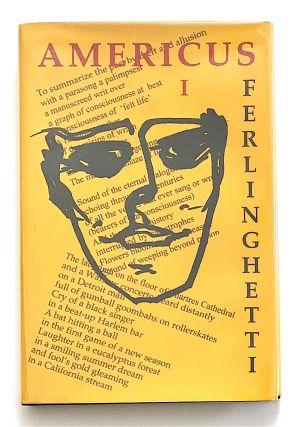 Americus. Book I. [first edition, signed]. Lawrence Ferlinghetti