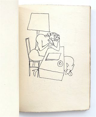 Dessins [first edition, with original drawing bound in]