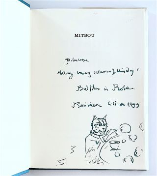 Mitsou. Forty Images by Balthus. Preface by Rainer Maria Rilke. [inscribed with a drawing]