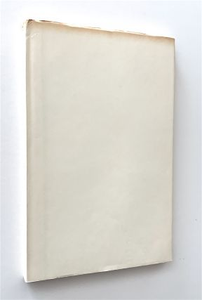 A Line of Poetry, A Row of Trees [author's edition, one of 50 copies in boards]
